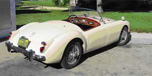 Bill's 1960 MGA