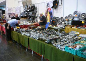 A vendor's display