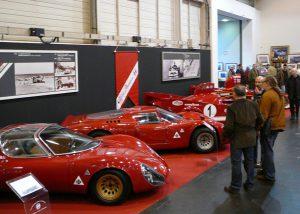 Alfa Romero's various T33 race cars