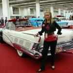 Harley Earl's 1958 Oldsmobile unrestrained