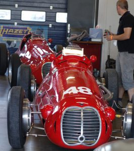 Almost 1948 with the very competitive Maserati 4CLT, profitable, easy to drive, and maintain