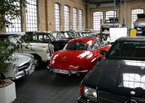 Mercedes workshop at Meilenwek