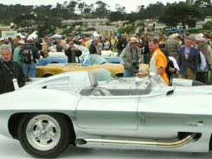 GM's 100th Anniversary at the Concours d'Elegance at Pebble Beach