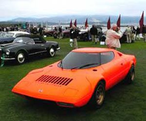 1970 Lancia stratos HF Prototipo at the<br /> Concours d'Elegance at Pebble Beach