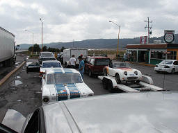 Start of the Carrera Panamericana Race