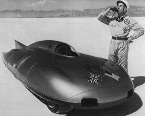 Stirling Moss With MG EX181