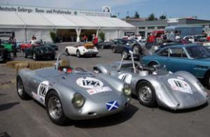 Porche 550 and Hillclimb Special