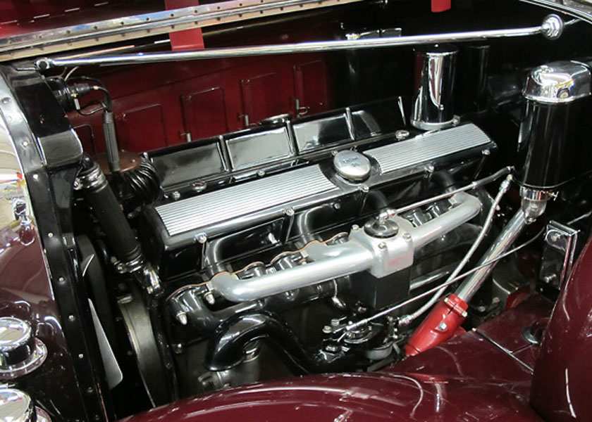 1930 Cadillac V16 Engine