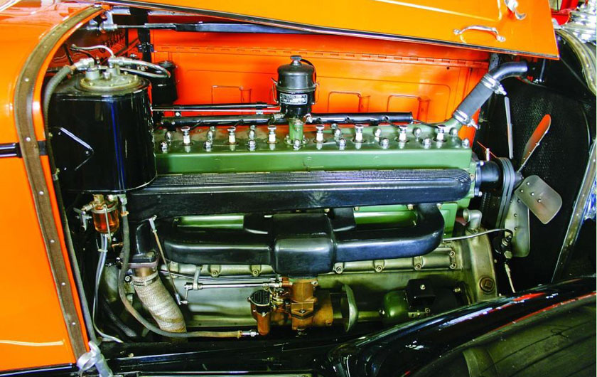 1930 Packard Engine
