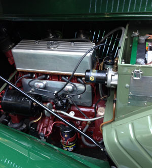 MG-TC Engine
