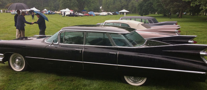1959 Cadillac Fleetwood with fins