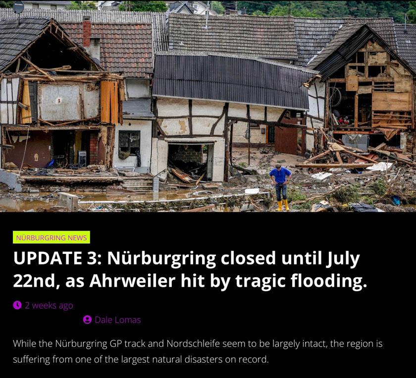 Nurbergring Disaster